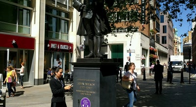 Photo of Outdoor Sculpture Statue of John Wilkes at Fetter Ln, London, United Kingdom