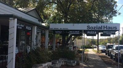 Photo of Pizza Place Sozial Haus at 107 S Llano St, Fredericksburg, TX 78624, United States