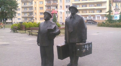 Photo of Outdoor Sculpture Pomnik Kargula i Pawlaka at Toruń, Poland