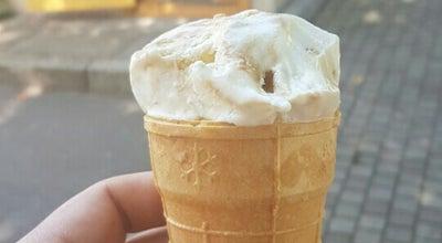"""Photo of Ice Cream Shop """"saldējuma namiņš"""" at Brīvības Iela 21/23, Ogre LV-5001, Latvia"""
