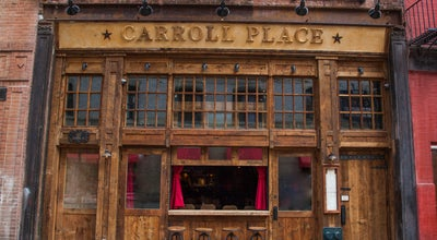 Photo of Italian Restaurant Carroll Place at 157 Bleecker St, New York, NY 10012, United States