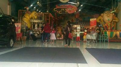 Photo of Playground Kids Fun Cartoon City at Indogrosir, Sleman, Indonesia