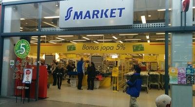 Photo of Supermarket S-market at Koskikatu 27, Rovaniemi 96100, Finland