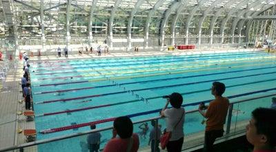 Photo of Pool 群馬県立敷島公園水泳場 at 敷島町66, 前橋市, Japan