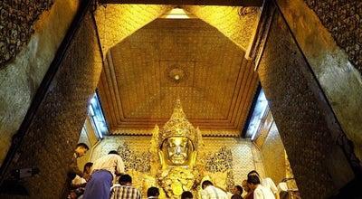 Photo of Historic Site Mahamuni Buddha temple at Mandalay, Myanmar