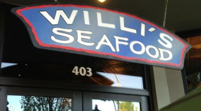 Photo of Seafood Restaurant Willi's Seafood & Raw Bar at 403 Healdsburg Ave., Healdsburg, CA 95448, United States