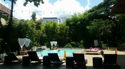 Photo of Pool Outdoor Swimming Pool - Marriott Hotel at Cardinal Rosales Ave, Cebu City 6000, Philippines