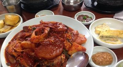 Photo of Korean Restaurant 누룽지식당 at 고산동산6길 15-1, 제주시, South Korea