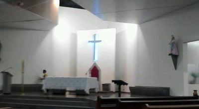 Photo of Church Paróquia São José Operário (Rainha da Paz) at R. Pe. Gil, Araguari, Brazil