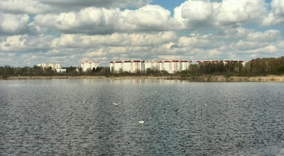 Photo of Lake Жлобинское at Ул. Парковая, Барановичи, Belarus