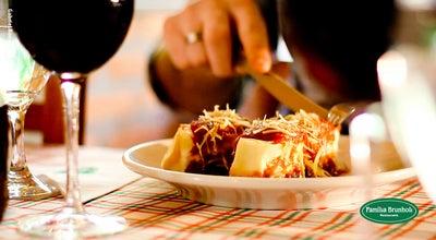 Photo of Italian Restaurant Família Brunholi Restaurante at Av Humberto Cereser, 5900 - Caxambu, Jundiaí 13218-711, Brazil