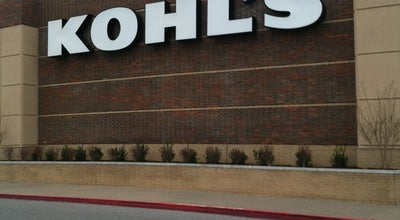 Photo of Department Store Kohl's at 3575 N Shiloh Dr, Fayetteville, AR 72703, United States