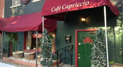 Photo of Italian Restaurant Cafe Capriccio at 49 Grand St, Albany, NY 12207, United States