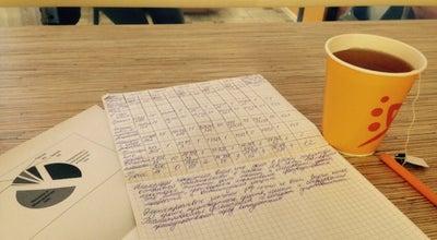 "Photo of Cafe Кафе ""Апельсин"" at Новороссийская Улица, Д. 50, Санкт-Петербург, Russia"