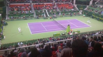 Photo of Tennis Court Qatar Tennis Federation at Majlis Al Taawon St., Doha 79495, Qatar