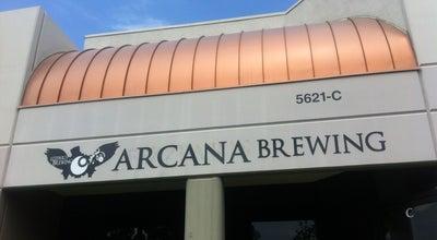 Photo of Brewery Arcana Brewing Company at 5621 Palmer Way, Carlsbad, CA 92010, United States