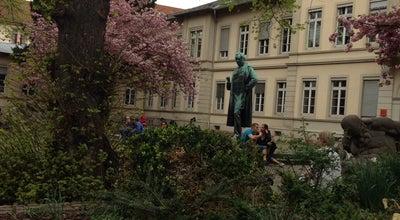 Photo of Monument / Landmark Robert-Wilhelm-Bunsen-Denkmal at Hauptstr., Heidelberg, Baden-Württemberg 69117, Germany