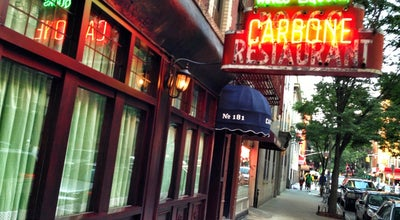 Photo of Italian Restaurant Carbone at 181 Thompson St, New York, NY 10012, United States