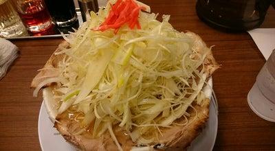 Photo of Food ラーメン砦 木津城 at 木越1998-5, 五泉市 959-1834, Japan