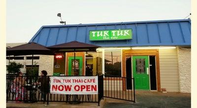 Photo of Thai Restaurant Tuk Tuk Thai Cafe at 5517 Manchaca Rd, Austin, TX 78745, United States