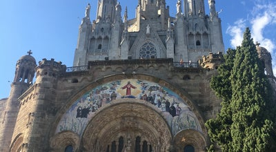 Photo of Mountain Tibidabo at Barcelona, Spain