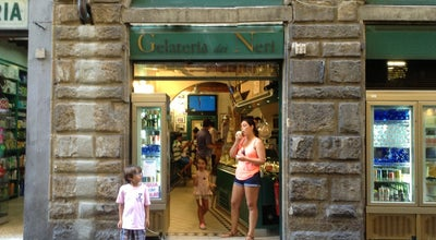 Photo of Ice Cream Shop Gelateria dei Neri at Via Dei Neri 9, Firenze 50122, Italy