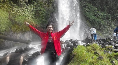 Photo of Water Park Cibereum Waterfall at Cibodas, Sukabumi, Indonesia