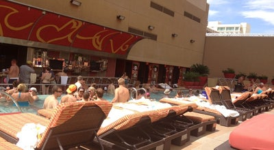 Photo of Pool The Hideout Pool at H2O at 129 Fremont St, Las Vegas, NV 89101, United States