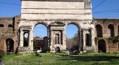 Photo of Monument / Landmark Porta Maggiore at Piazza Di Porta Maggiore, Roma 00182, Italy