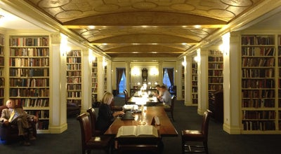 Photo of College Library Yale Club Library at 200 Park Ave, New York, NY 10017, United States