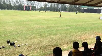 Photo of Cricket Ground Bayuemas Oval at Jalan Pandamaran, Klang, Malaysia