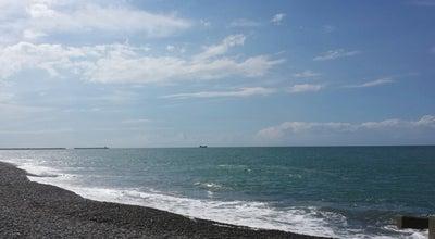 Photo of Beach 糸魚川海水浴場 at 押上, 糸魚川市, Japan