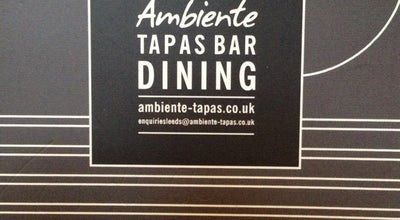Photo of Tapas Restaurant Ambiente at 36-38 The Calls, Leeds LS2 7EW, United Kingdom