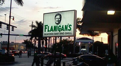 Photo of Seafood Restaurant Flanigan's Seafood Bar & Grill at 4 N Federal Hwy, Hallandale Beach, FL 33009, United States