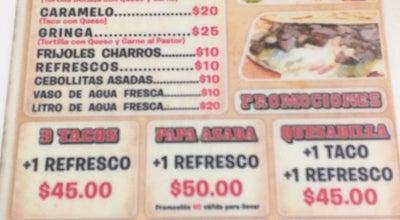 """Photo of Taco Place Taqueria """"El Cuartel"""" at No Reelección, Navojoa 85800, Mexico"""