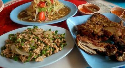 Photo of Asian Restaurant ส้มตำไก่ทอดท่าใหม่ at Thanon Sum Pa Tan, Tha Mai 22120, Thailand