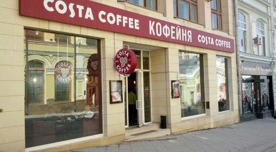 Photo of Coffee Shop Costa Coffee at Ул. Кузнецкий Мост, 18/7, Стр. 1, Москва 107031, Russia
