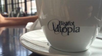 Photo of Cafe Bar Utopia at 4 Rue Des Escaliers Saint-anne, Avignon 84000, France