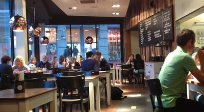 Photo of Burger Joint Gourmet Burger Kitchen at Nottingham NG1 4AF, United Kingdom