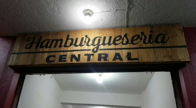 Photo of Burger Joint Hamburguesería Central at Central Norte #154, Tapachula, Mexico