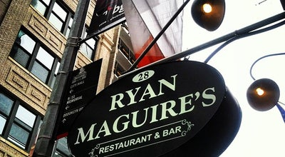 Photo of American Restaurant Ryan Maguire's Ale House at 28 Cliff St, New York, NY 10038, United States