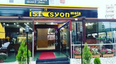 Photo of Cafe îSTASYON MOLA at Karacaoğlan Mahallesi Turgut  Özal Bulvarı Tümer Apartmanı Zemin Kat No: 23, adana 01500, Turkey