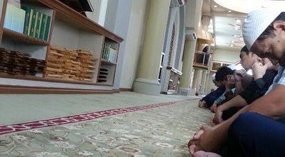Photo of Mosque Masjid Rashidah Sa'adatul Bolkiah at Kampong Sungai Akar, Bandar Seri Begawan BC3915, Brunei
