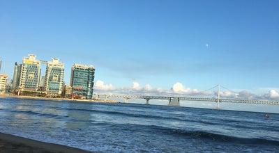Photo of Beach 광안리 해수욕장 (Gwangalli Beach) at 수영구 광안해변로 219, Busan 613-102, South Korea