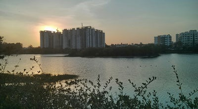Photo of Lake Kaikondanahalli lake at Sarjapur Road, Bangalore, India