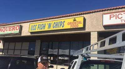 Photo of Korean Restaurant U.S.S. Fish N Chips at 3297 Las Vegas Blvd N, Las Vegas, NV 89115, United States