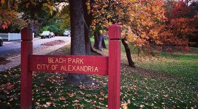 Photo of Playground Beach Park at 201 Rucker Place, Alexandria, VA 22301, United States