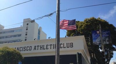Photo of Sports Bar San Francisco Athletic Club at 1750 Divisadero, San Francisco, CA 94115, United States