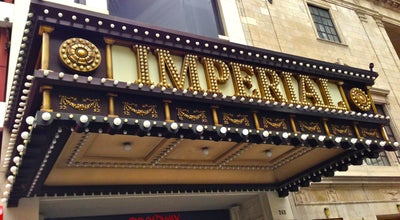 Photo of Theater Imperial Theatre Box Office at 249 W 45th St, New York, NY 10036, United States