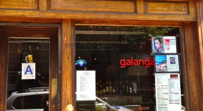 Photo of Thai Restaurant Galanga at 149 W 4th St, New York, NY 10012, United States